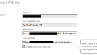 Missing auth provider after Exchange 2013 Upgrade – Azure