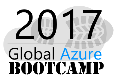 Get ready for Global Azure Bootcamp 2017