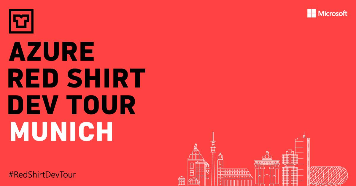 Join Scott Guthrie for the Azure Red Shirt Dev Tour 2018 inGermany